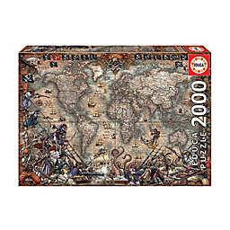 Pirates Map Jigsaw Puzzle: 2000 Pcs