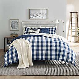 Eddie Bauer® Lakehouse Plaid Reversible Comforter Set in Blue