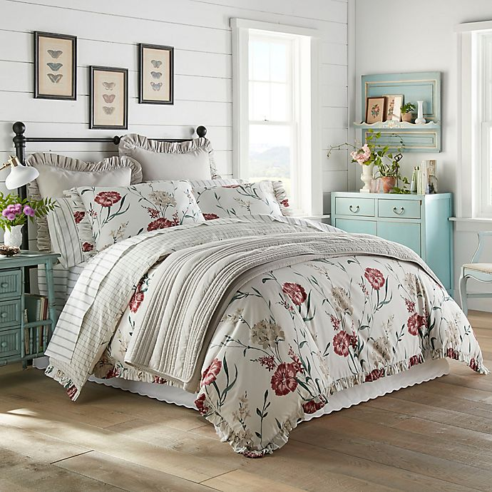 Alternate image 1 for Stone Cottage Garden Reversible Bedding Collection