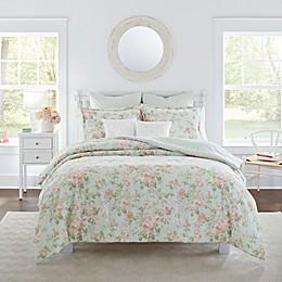 Laura Ashley® Madelynn Comforter Bonus Set in Duck Egg