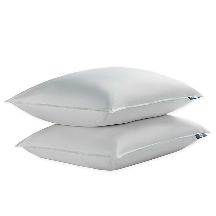 Serta 2 Pack Goose Feather And Down Bed Pillows Bed Bath Beyond