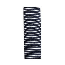 aden + anais® Striped Snuggle Knit Swaddle Blanket in Navy
