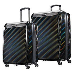 American Tourister® Moonlight Hardside Checked Spinner Luggage