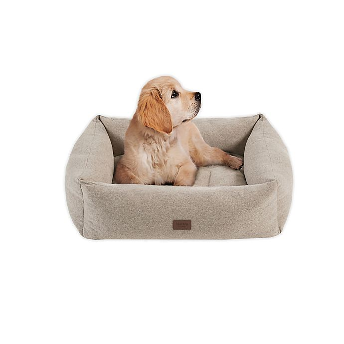 Alternate image 1 for Martha Stewart Charlie 4-Sided Bolster Dog Bed