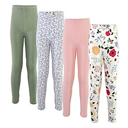 Touched by Nature® 4-Pack Organic Cotton Leggings