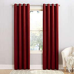 Sun Zero® Bella 108-Inch Grommet Window Curtain Panel in Brick