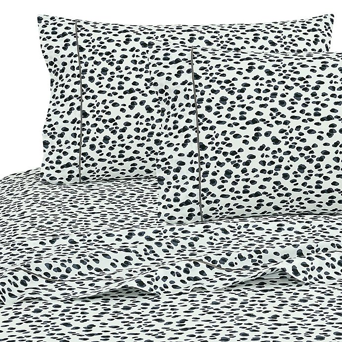 Alternate image 1 for SALT™ Cheetah 100% Cotton Sheet Set