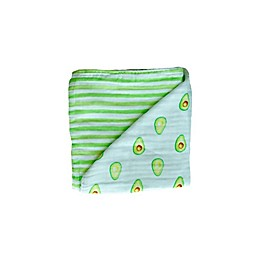 Malabar Baby GOTS Certified Organic Cotton Blanket in Avocado