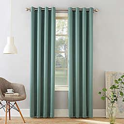 Sun Zero® Bella 95-Inch Grommet Curtain in Mineral