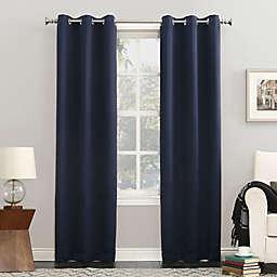 Sun Zero® Mariah 63-Inch Grommet Curtain in Navy