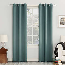 Sun Zero® Mariah 63-Inch Grommet Curtain in Mineral