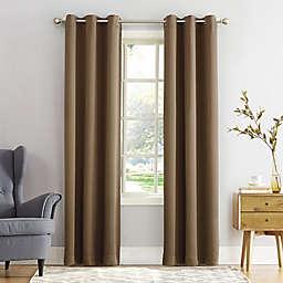 Sun Zero® Mariah 95-Inch Grommet Curtain in Barley