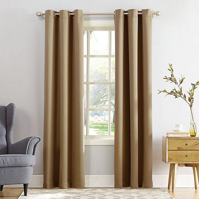 Alternate image 1 for Sun Zero® Mariah Room Darkening Grommet Window Curtain Panel (Single)