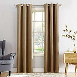 Sun Zero® Mariah 84-Inch Grommet Curtain in Taupe