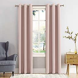 Sun Zero® Mariah 84-Inch Grommet Curtain in Blush