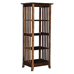 Hanelle Single Bookcase Cappuccino