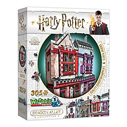 Wrebbit™ 305-Piece Quality Quidditch Supplies and Slug & Jiggers 3D Puzzle