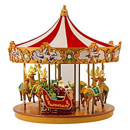 Mr. Christmas® 12.2-Inch Very Merry Carousel
