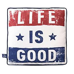 Life is Good® Americana Toss Pillow