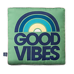 Life is Good® Good Vibes Toss Pillow in Green