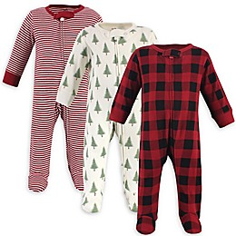 Touched by Nature® 3-Pack Tree Organic Cotton Sleep 'N Plays