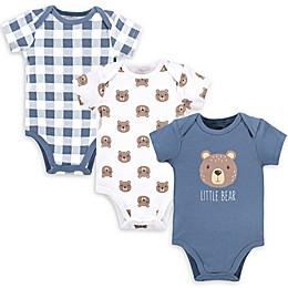 Hudson Baby® 3-Pack Little Bear Bodysuits