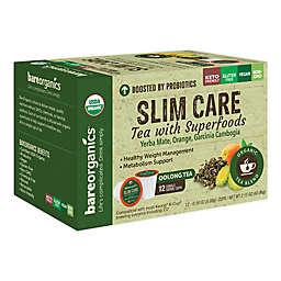 BareOrganics® Slim Care Oolong Tea Pods for Single Serve Coffee Makers 12-Count