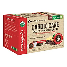BareOrganics® Cardio Care Coffee Pods for Single Serve Coffee Makers 12-Count