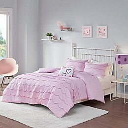 Mi Zone Sophia Duvet Cover Set in Pink