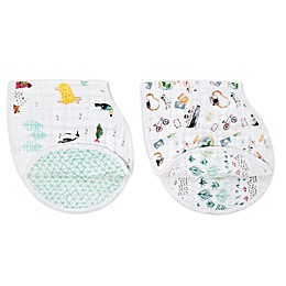 aden + anais® World 2-Pack Burpy Bibs