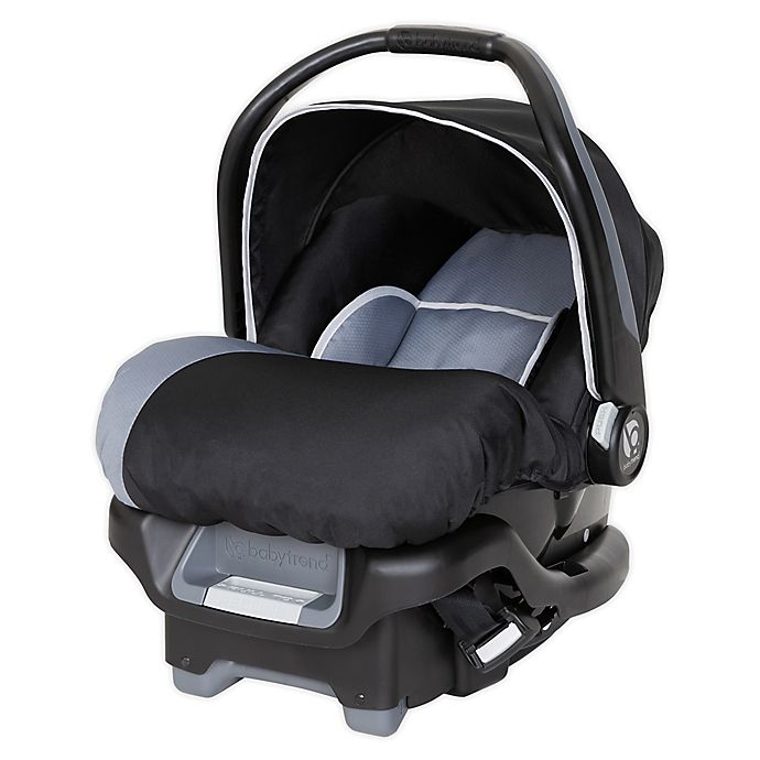 Alternate image 1 for Baby Trend® Ally™ 35 Infant Car Seat with Cozy Cover Ultra in Grey/Black
