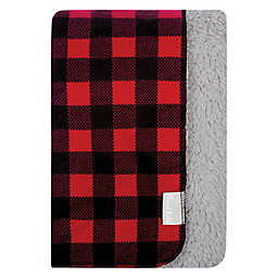 Trend Lab® Reversible Buffalo Check Cotton Flannel Blanket in Red/Black