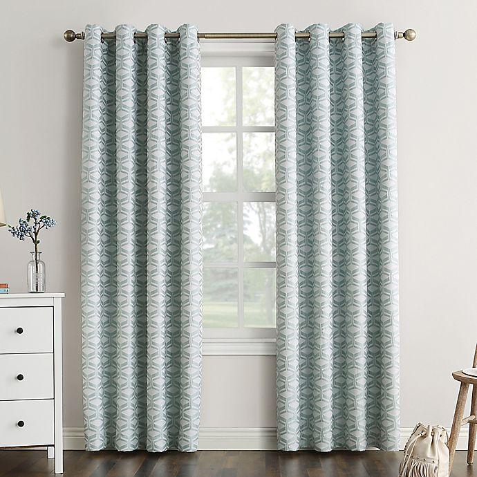 Alternate image 1 for Sun Zero® Raleigh Grommet 100% Blackout Window Curtain Panel