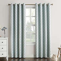 Sun Zero® Raleigh Grommet 100% Blackout Window Curtain Panel