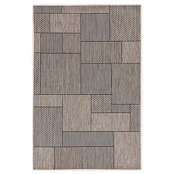 Alternate image 1 for KAS Provo Gates Indoor/Outdoor Rug in Grey