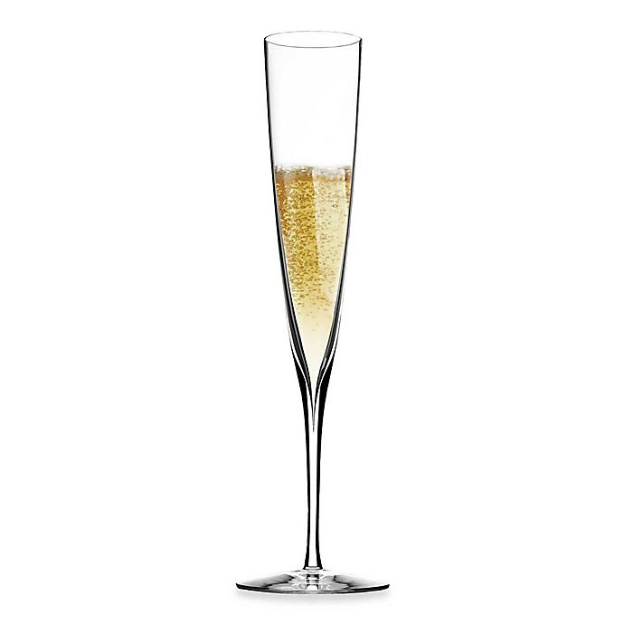 Alternate image 1 for Waterford® Elegance Champagne Trumpet Flutes (Set of 2)