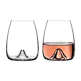 Waterford® Elegance Stemless Wine Glasses (Set of 2)