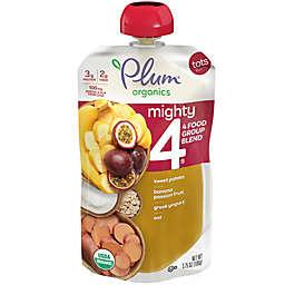 Plum Organics® Tots Mighty 4® Sweet Potato Banana Passion Fruit Blend 4 oz. Baby Food