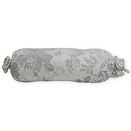 Wamsutta® Vintage Floral Bolster Indoor/Outdoor Throw Pillow in Grey