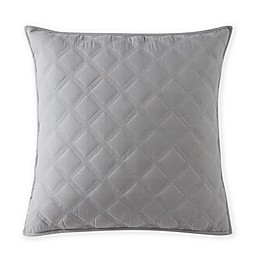 Bridge Street Parker European Pillow Shams in Grey