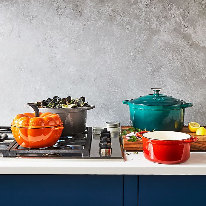 Alternate image 1 for Artisanal Kitchen Supply® Enameled Cast Iron Dutch Oven Collection