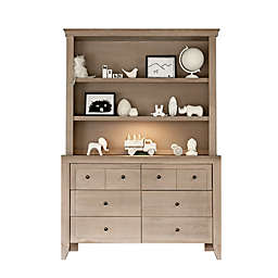 Milk Street Baby Cameo Hutch/Bookcase in Natural Toast