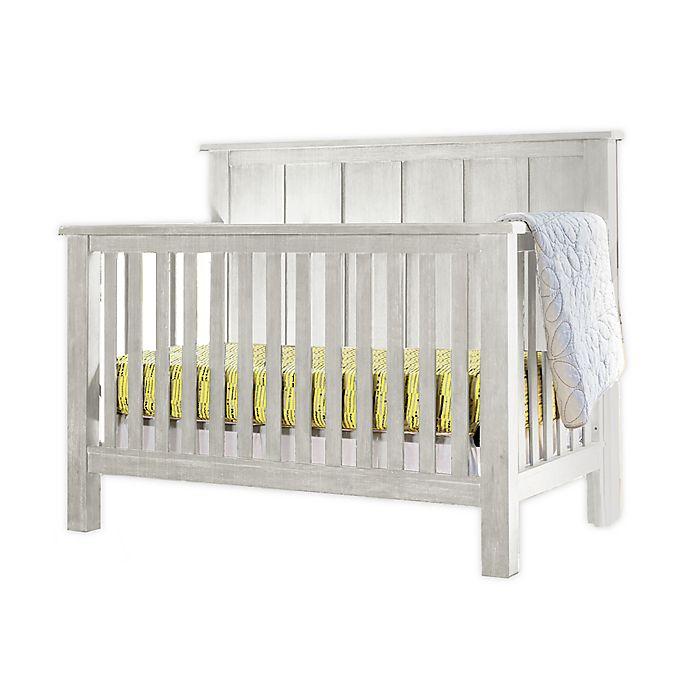 Alternate image 1 for Milk Street Relic 4-in-1 Batten Convertible Crib in Cloud White