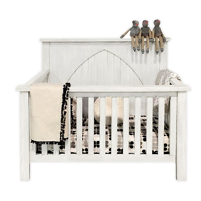 Alternate image 1 for Milk Street Baby Relic Winchester 4-in-1 Convertible Crib in Cloud White