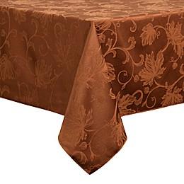 Autumn Vine Damask Tablecloth