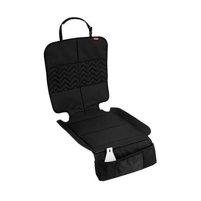 Alternate image 1 for SKIP*HOP® Style Driven Clean Sweep Car Seat Protector in Black