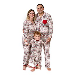 Burt's Bees Baby® Dashing Deer Fair Isle Organic Cotton Family Pajama Collection