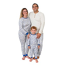 Burt's Bees Baby® Icy Snowflakes Organic Cotton Family Pajama Collection in Blue/Ivory