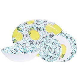 Capri Tile Melamine Dinnerware Collection