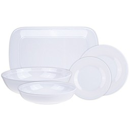 Glazed Melamine Dinnerware and Serveware Collection
